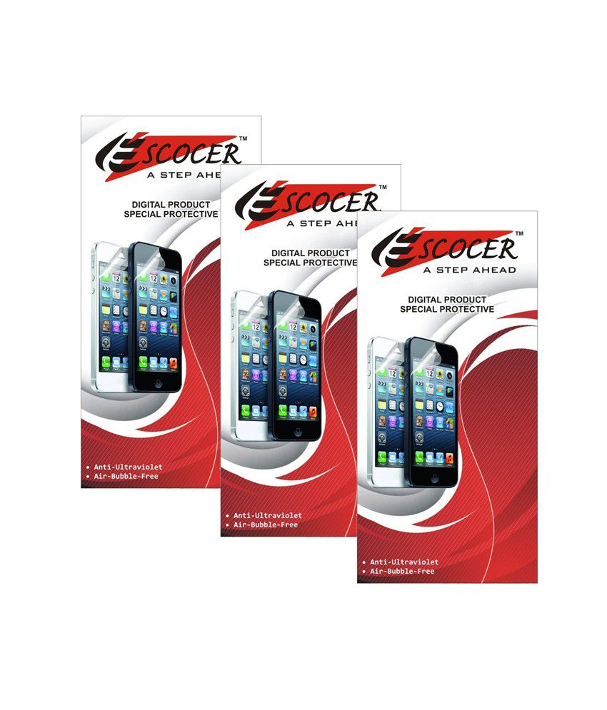 Micromax Canvas 2 Colors A120 Clear Screen Guard by Escocer