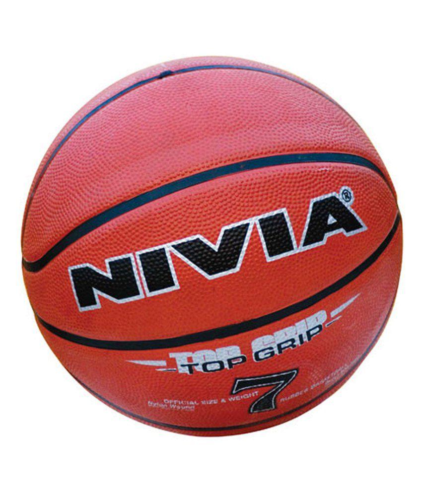 Nivia Topgrip Basketball / Ball Size  7 BB 195