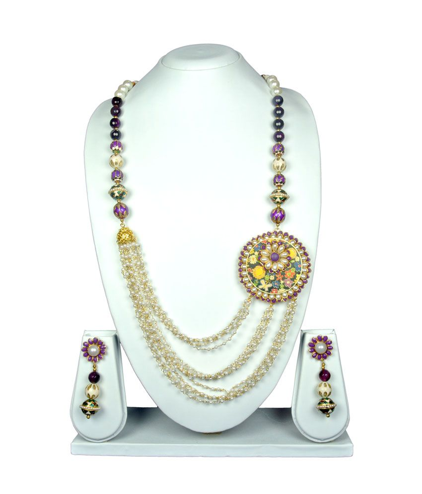 Osas Multicolor Contemporary Necklace Set