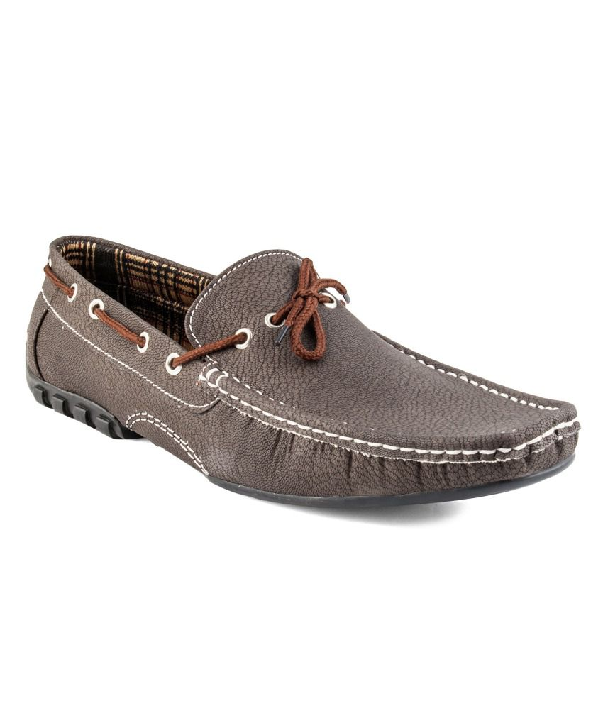 Zapatoz Brown Loafers