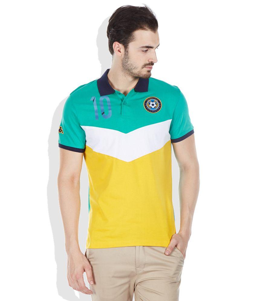 Kappa Green Polo T-Shirt