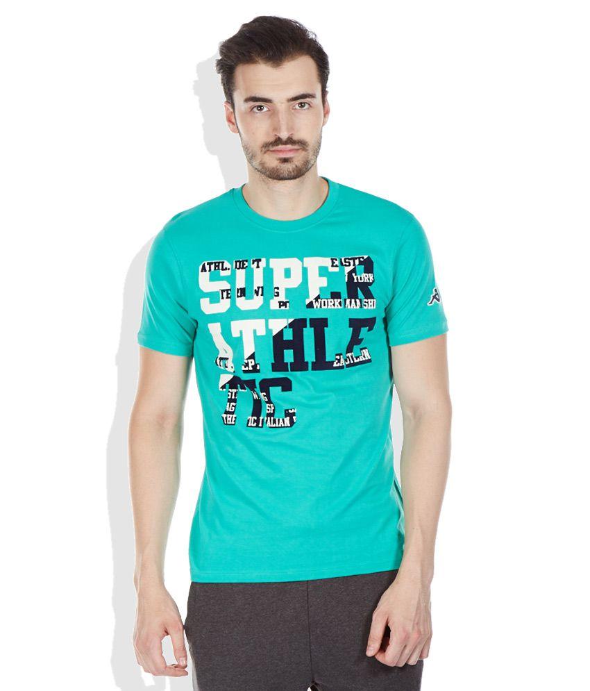 Kappa Green Round Neck T-Shirt