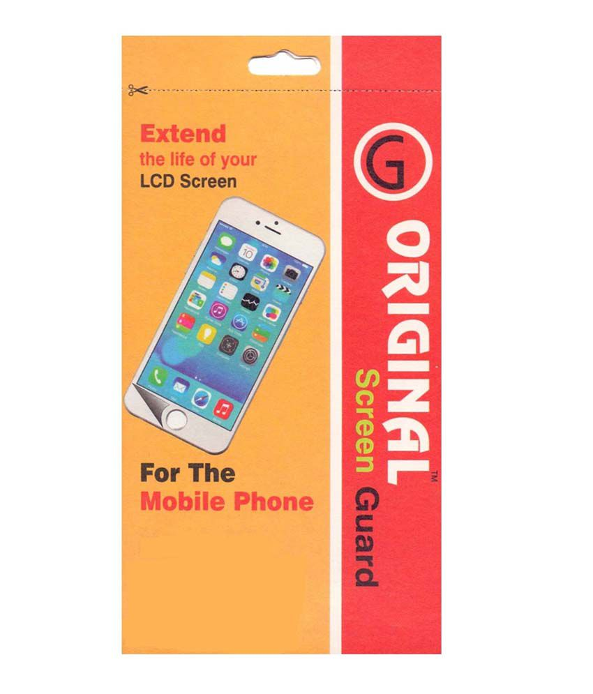 Original Clear Screen Guard For Micromax A177 Juice