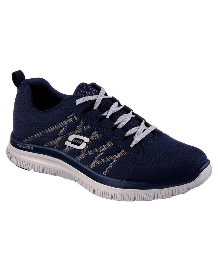 buy skechers flex advantage sport shoes for snapdeal