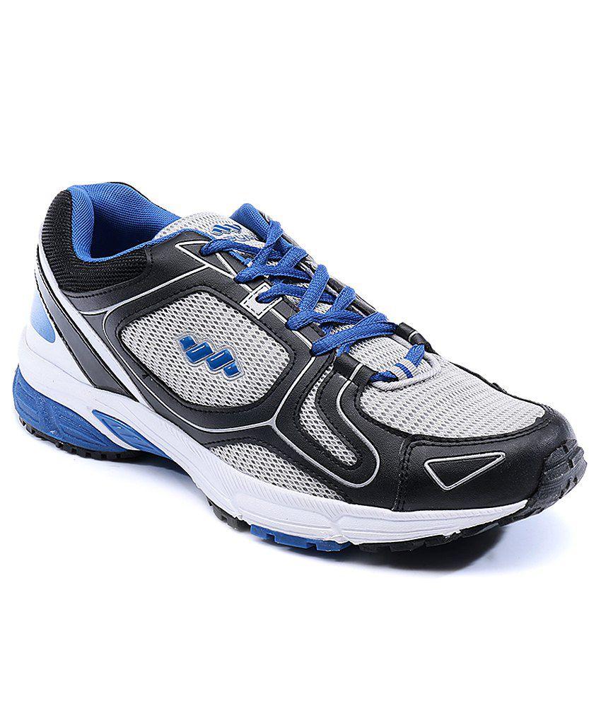 Spunk Silver/Royal Blue Wells Sports Shoes