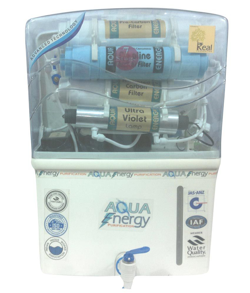 AQUA Energy Purification Alkaline Ionizer Filter + RO + UV + TDS