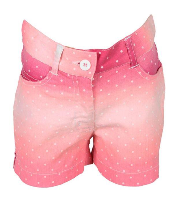 Eight26 Pink Denim Shorts