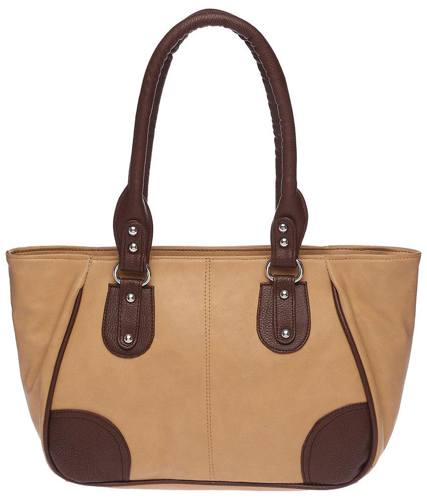 Elliza Donatein 9355395-BEIGE Beige Shoulder Bags