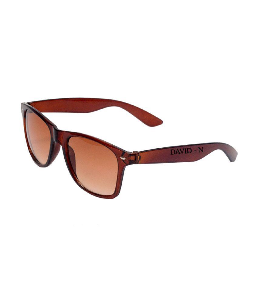 David-n Brown Wayfarer Stylish Sunglasses