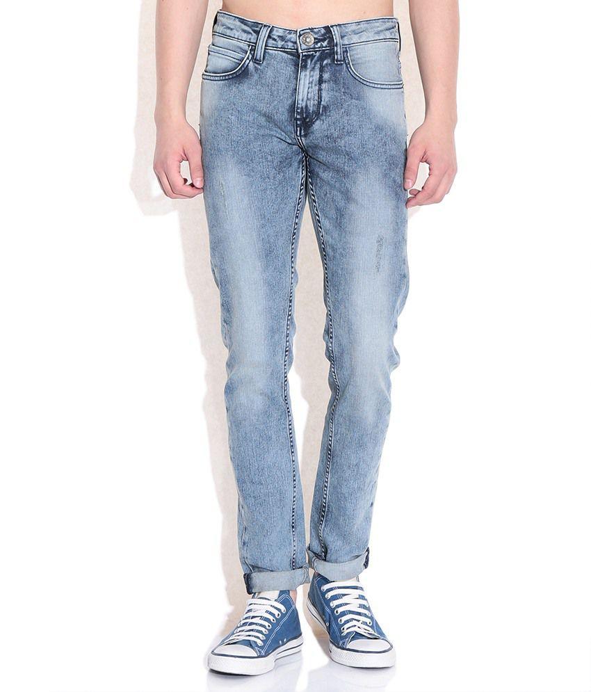 Sisley Blue Slim Fit Jeans