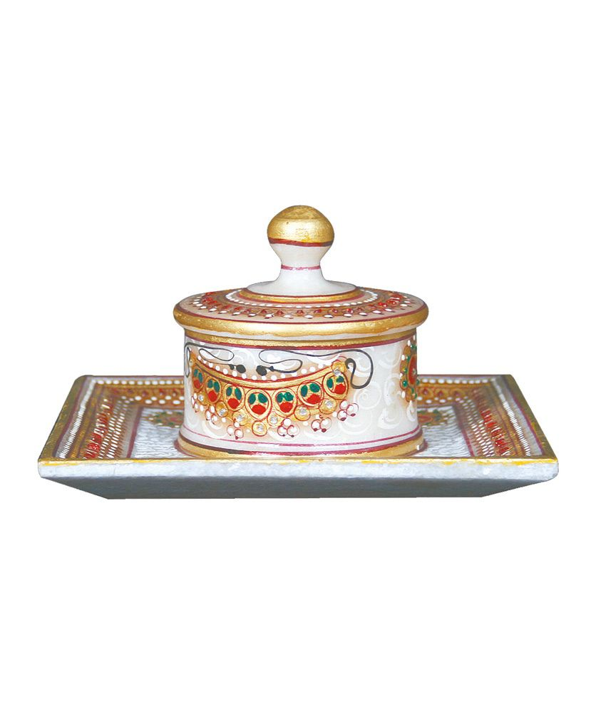 Anshul Home Decor Handicraft Home Decor Marble Single