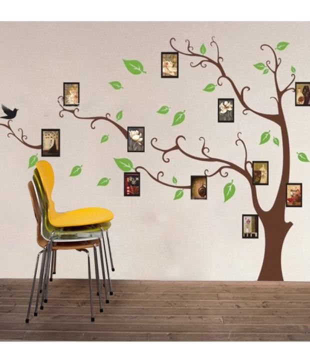 Wall Decals Living Room stickerskart wall stickers living room family photo tree 803 - buy