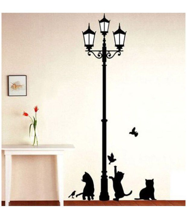 StickersKart Wall Stickers Ancient Lamp and Cats 57021 Buy