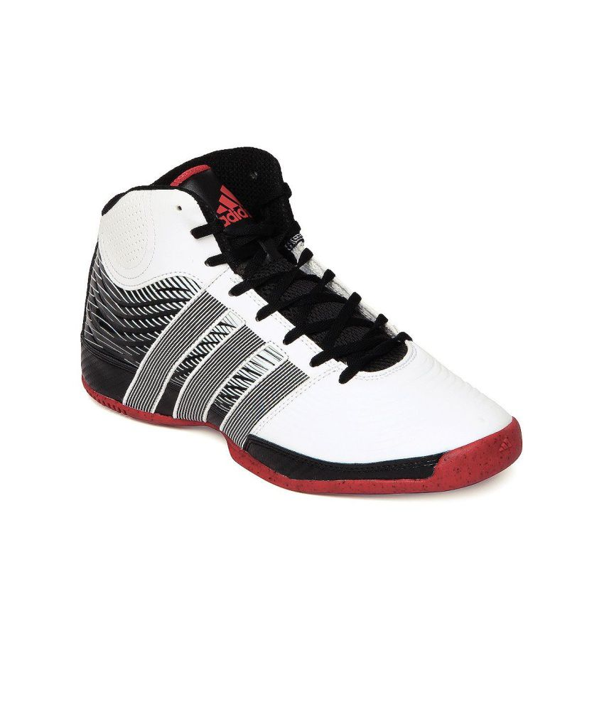Adidas Black and White Commander TD 4 Sports Shoes Q33309