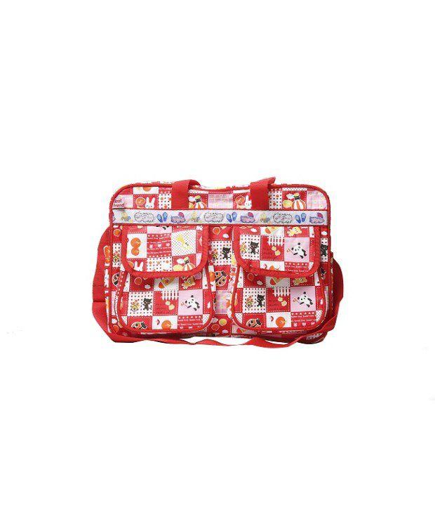Cheeky Duck Red Diaper Bag