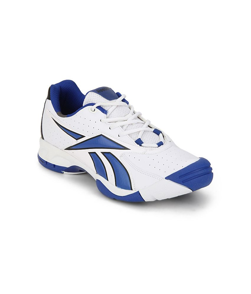 e0f4006bf2a Reebok Match Point White Running Shoes - Buy Reebok Match Point White  Running Shoes Online at Best Prices in India on Snapdeal