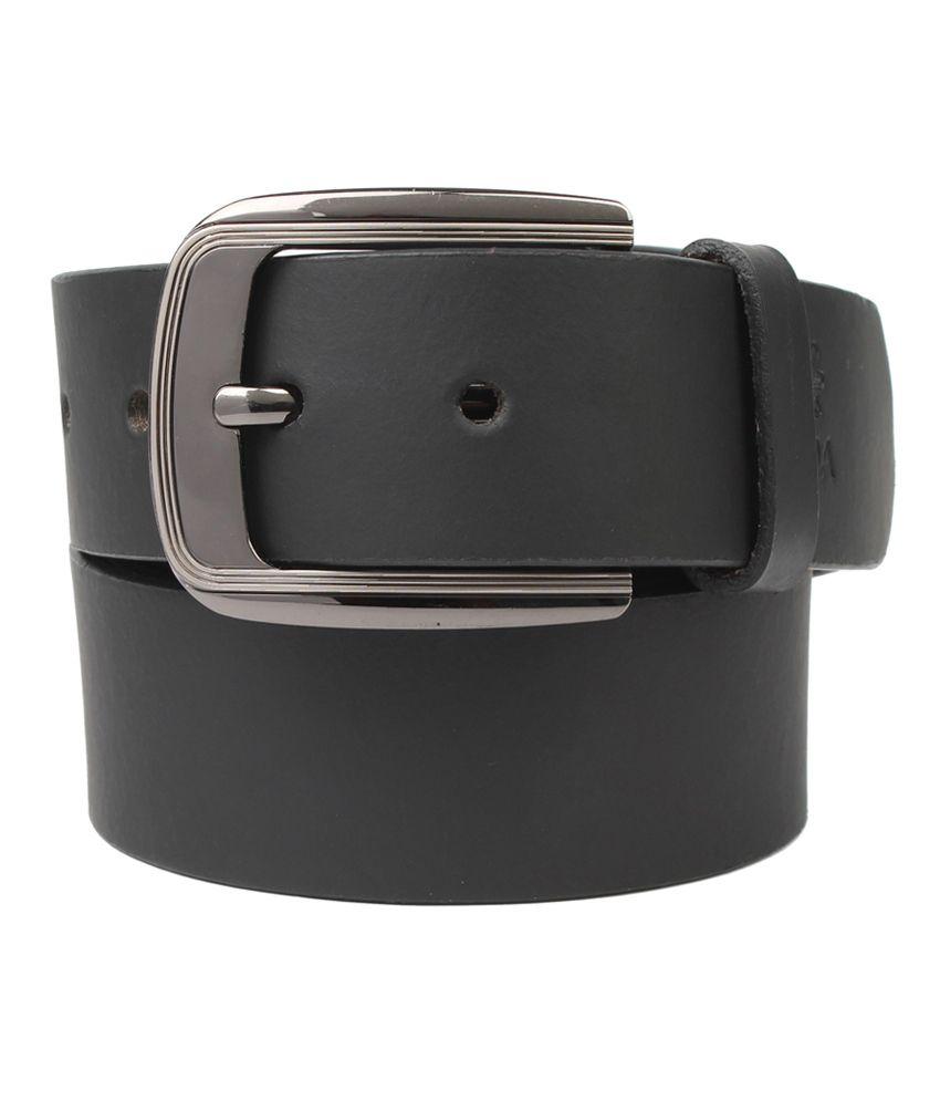 UMDA Black Leather Belt