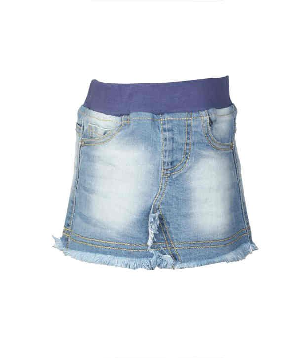 Stop By Shoppers Stop Blue Denim Skirt