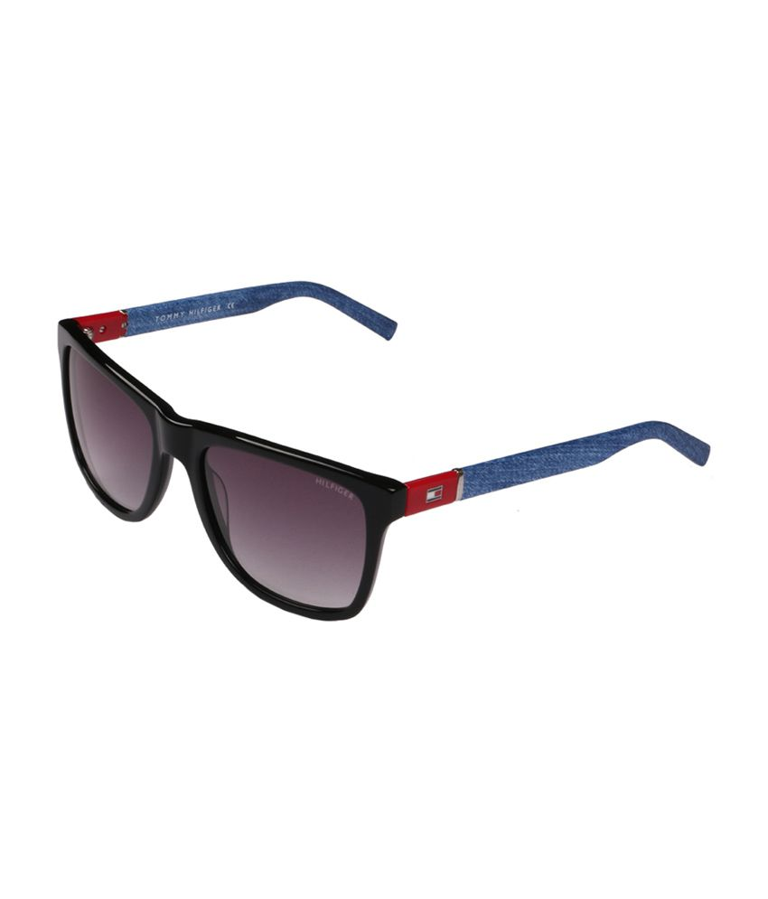 48d99f96ce0 Tommy Hilfiger TH7875 C1 Purple Wayfarer Unisex Sunglasses available at SnapDeal  for Rs.5100