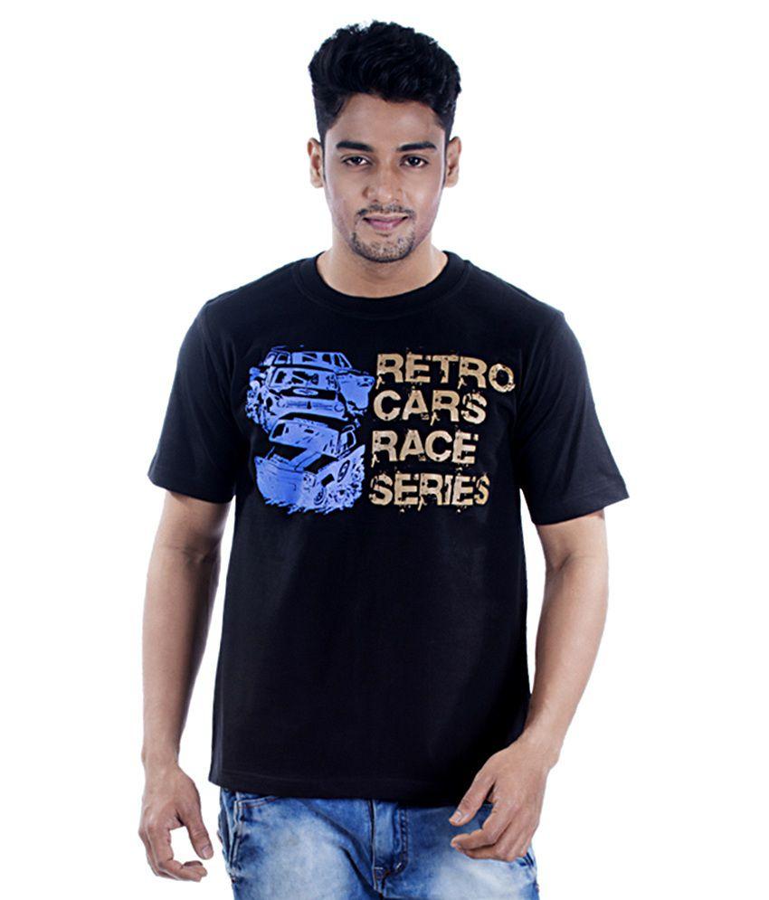 TSG Escape Men's Round Neck Printed T-shirt Black