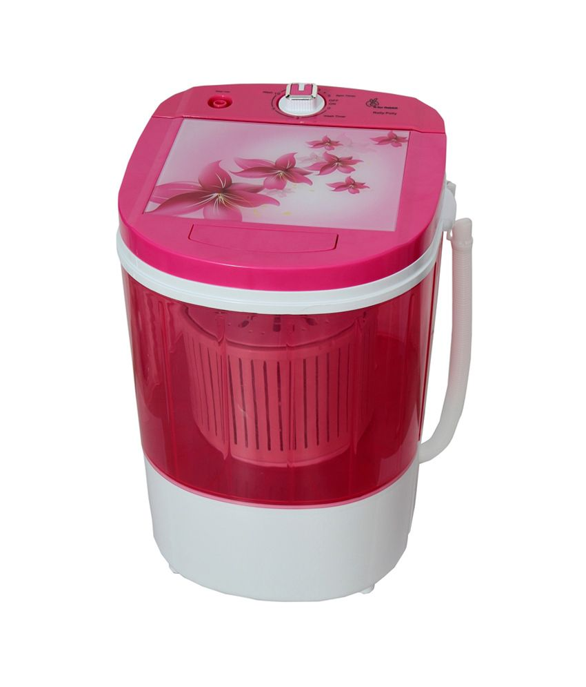 R for Rabbit 3 Kg Rolly Polly Semi Automatic Top Load Washing Machine Magenta