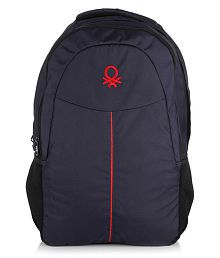 United Colors of Benetton Blue Backpack