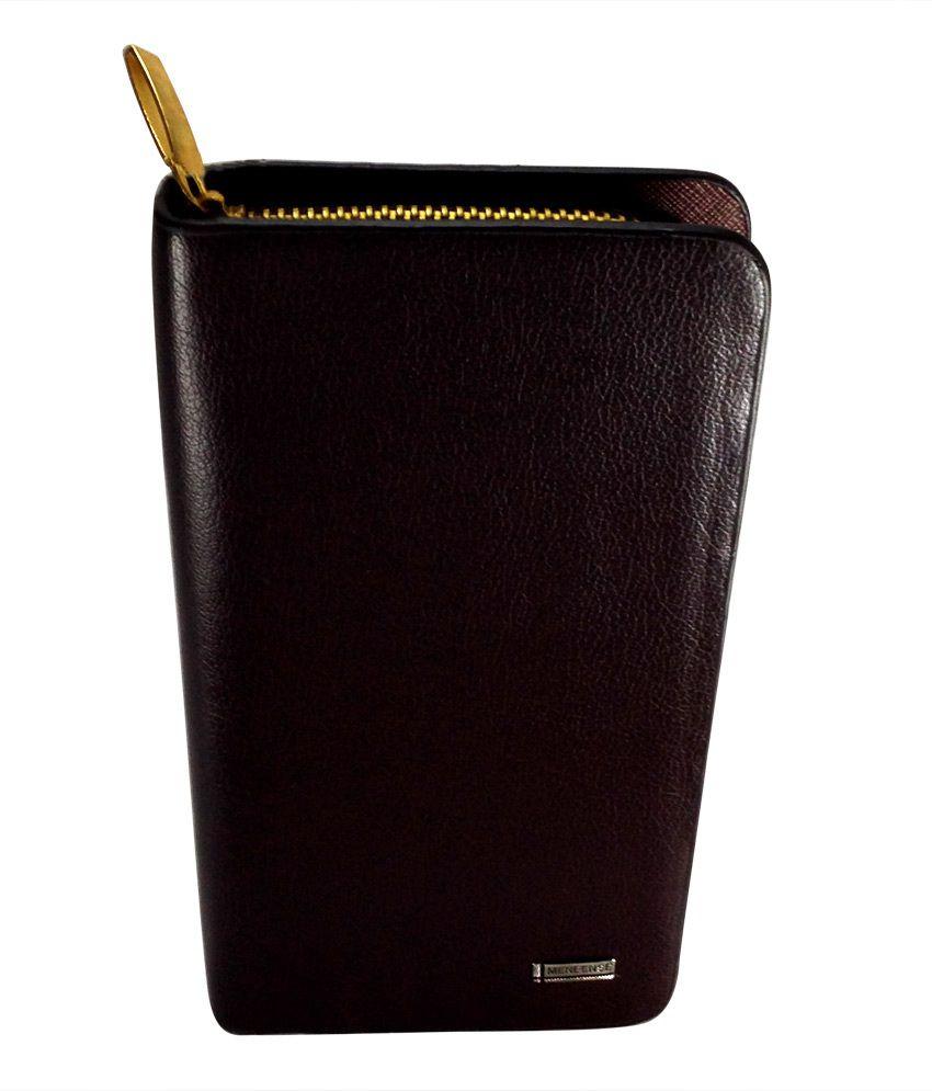 Gift Island Zipped Long Wallet For Women