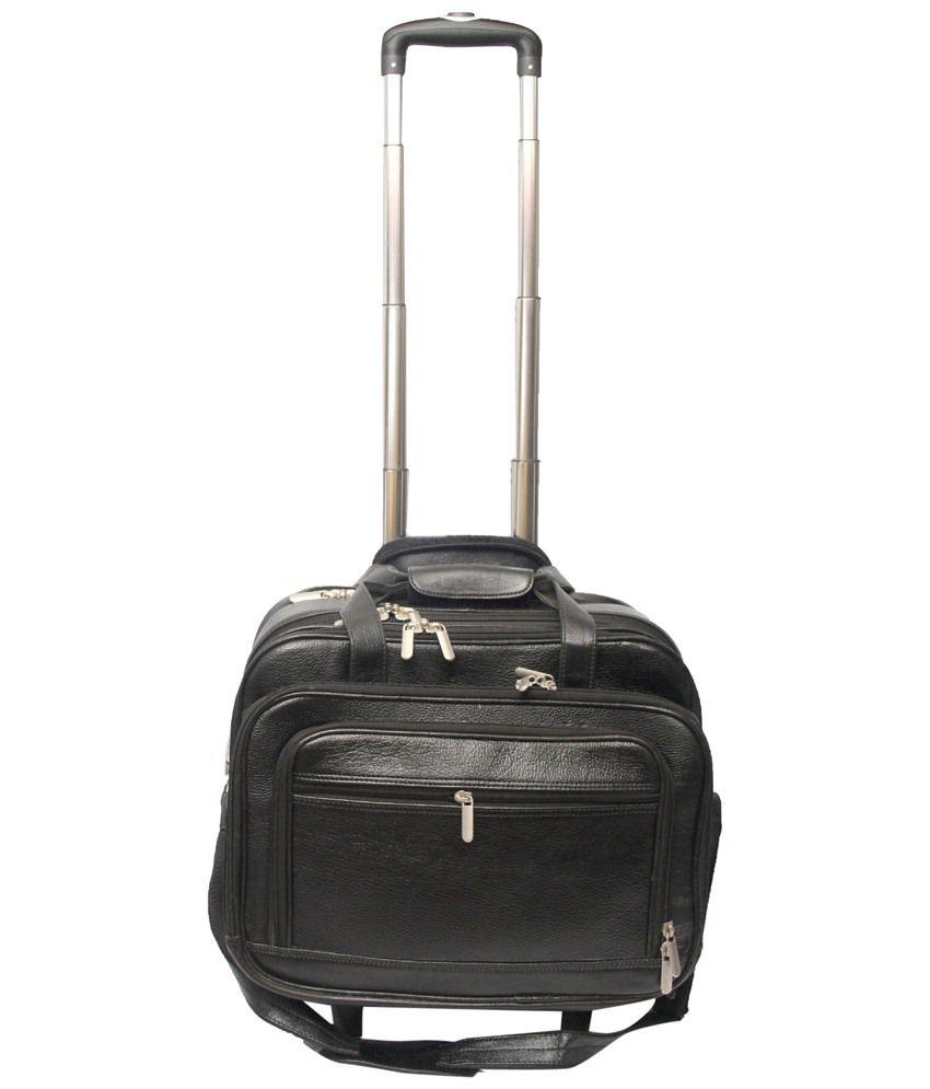 C Comfort Black Luggage Bag