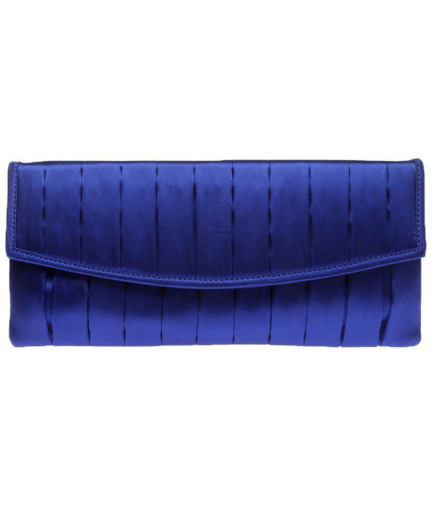 Elliza Donatein 9182558-BLUE Blue Clutch