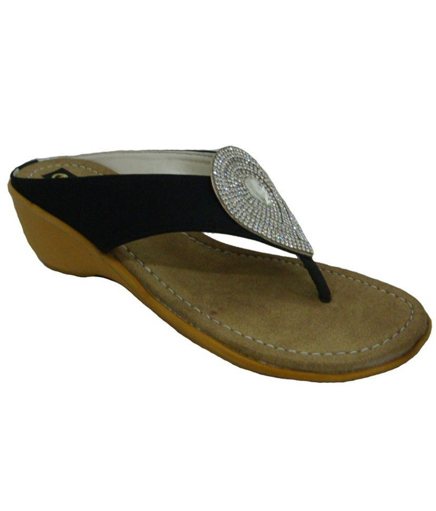 Senso Vegetarian Shoes Trendy Black Heeled Slip-Ons
