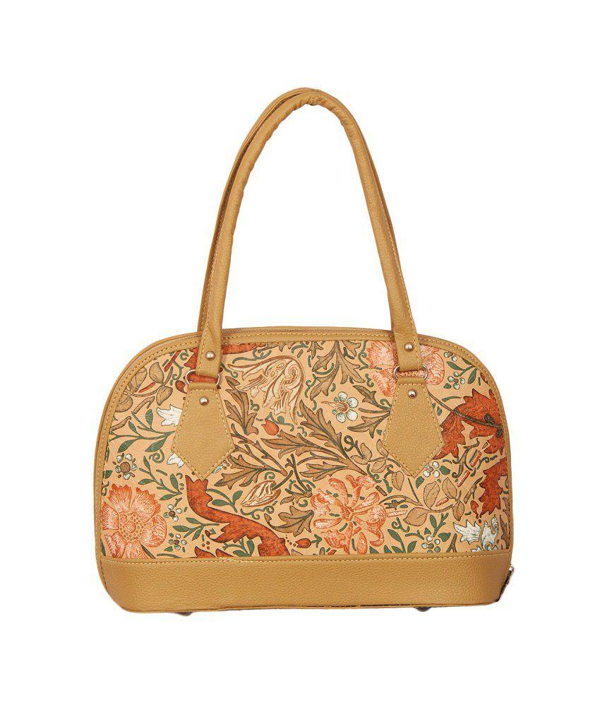 Notbad P.u. Beiege Women Satchel Bag