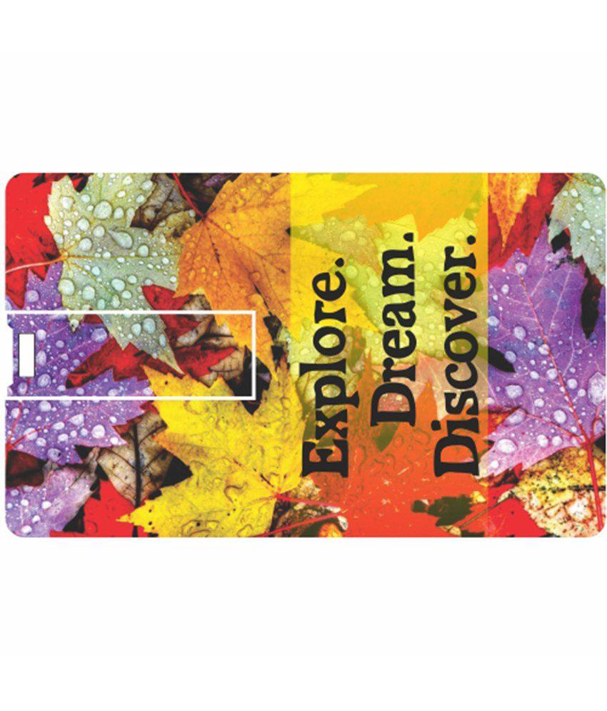 Printland Explore 8 GB Pen Drives Multicolor