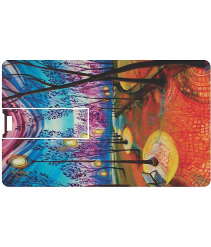 Printland Very Cool 8 GB Pen Drives Multicolor
