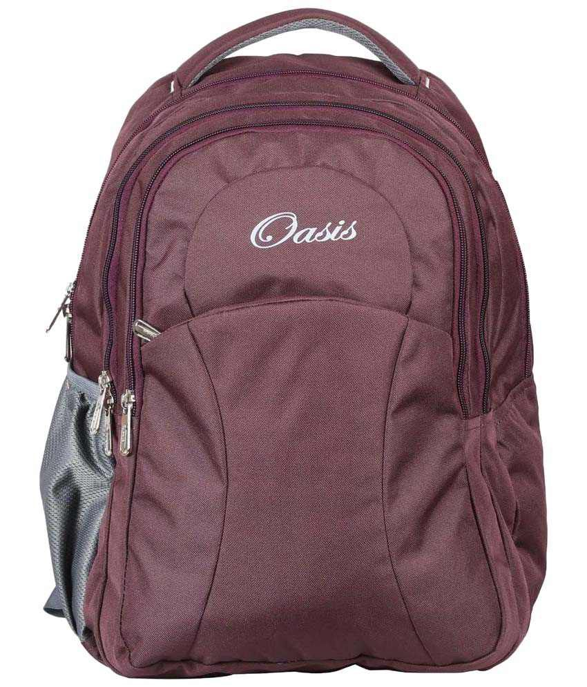 1a8b7afd3a4d Oasis OSB 15 N Purple & Gray Backpack - Buy Oasis OSB 15 N Purple & Gray  Backpack Online at Low Price - Snapdeal
