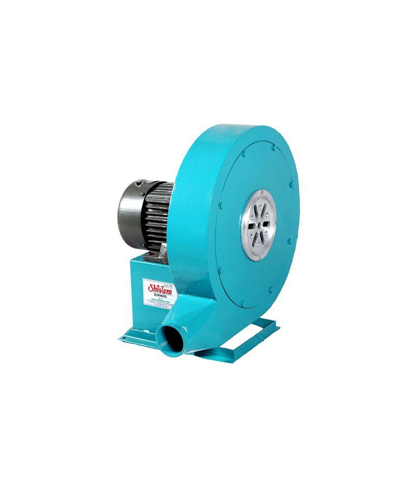 Shivam Burners Blue 1/2 Hp (0.5 Hp) 2800 RPM Electric Motor Blower ...