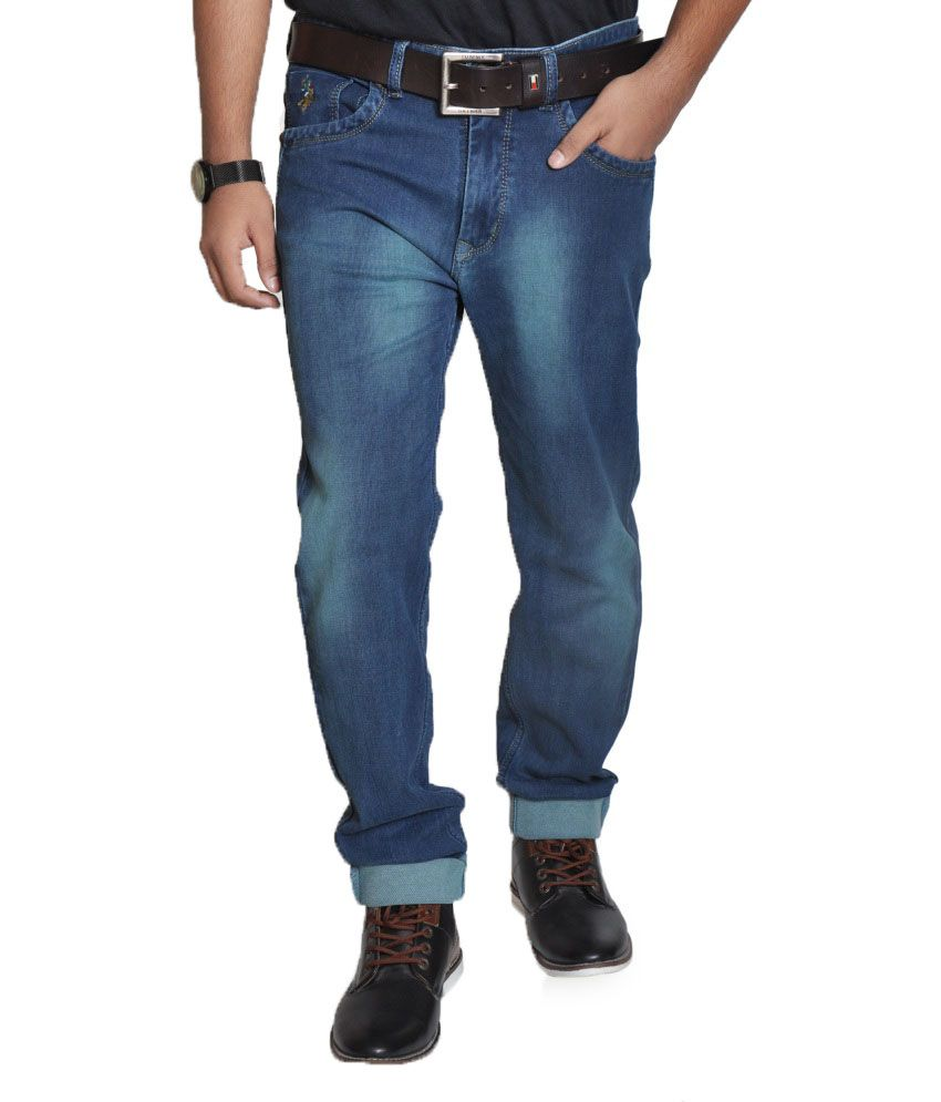 U.S. Polo Assn. Blue Regular Jeans