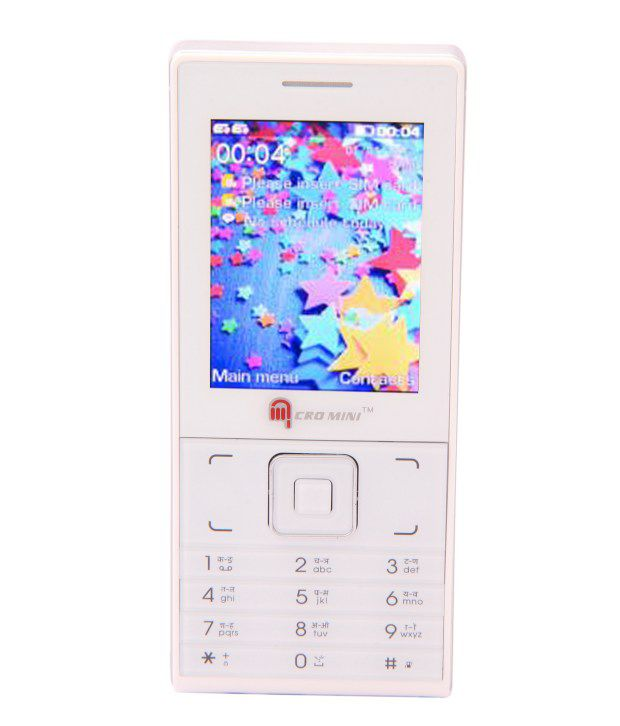 Micromini Dual Sim Gsm With Rear Camera Feature s