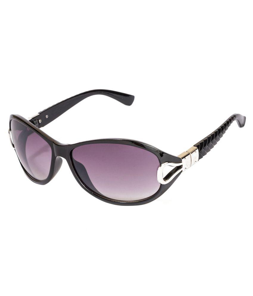 Hh Polarized Sunglasses Black Non Metal Plastic Oval Sunglass