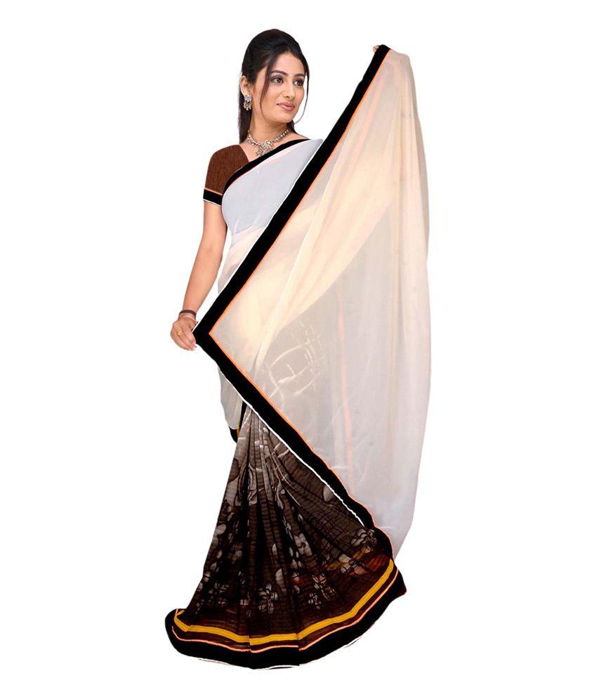 Khushali Multicoloured Georgette Saree
