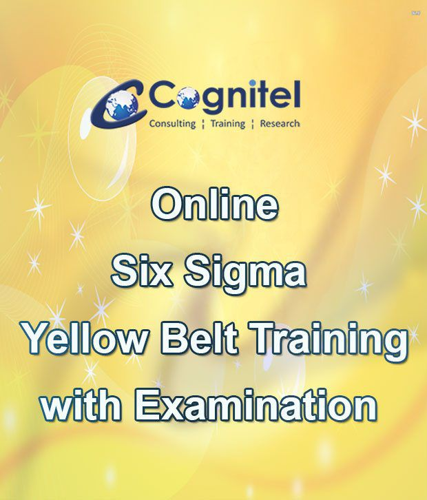 Six Sigma Yellow Belt Certification Course And Exam With Online