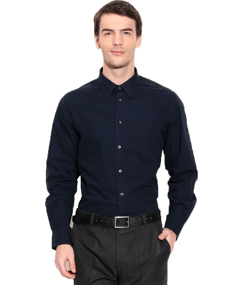 Kloof black 100 percent cotton formal shirt buy kloof 100 cotton tuxedo shirt