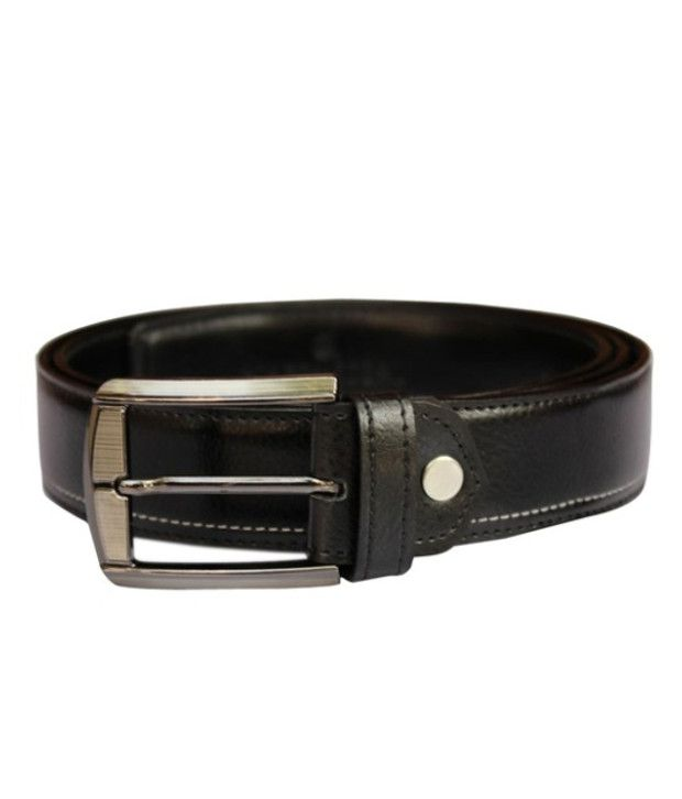 Winsome Deal Black Leather Belt For Men