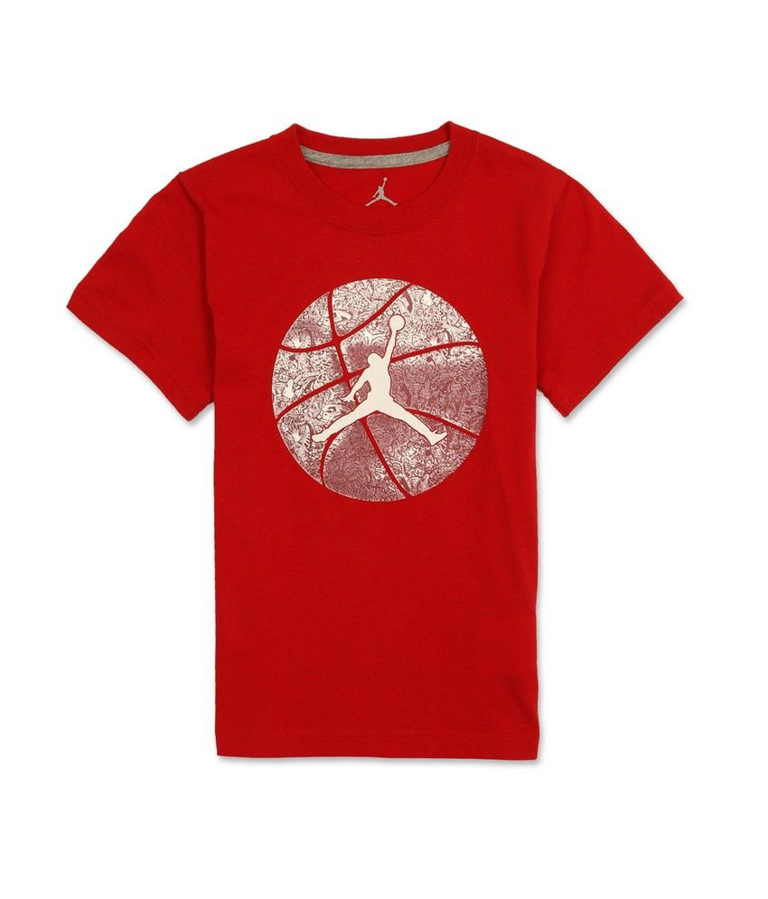 7a3d13787a73 Jordan Red T-Shirt - Buy Jordan Red T-Shirt Online at Low Price - Snapdeal