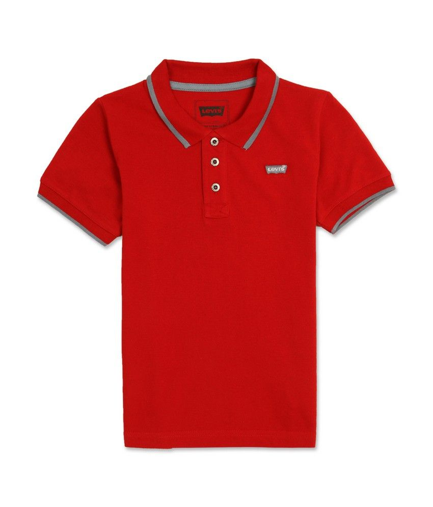 Levis (Kids) Red T-Shirt