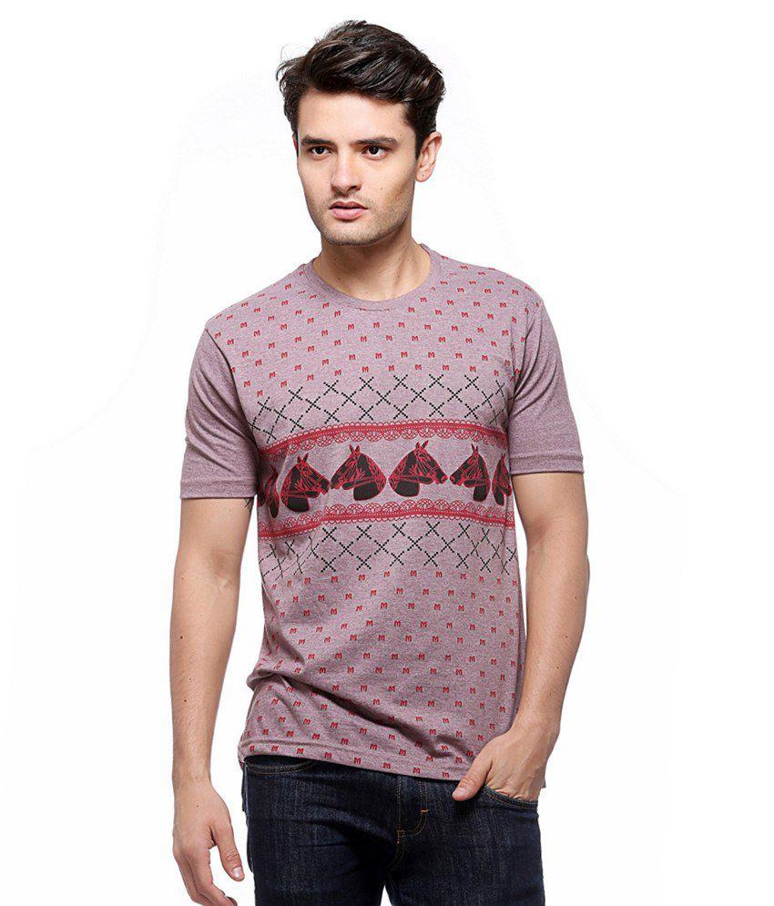 Minute Merge Multicolor Cotton Round Neck T-shirt