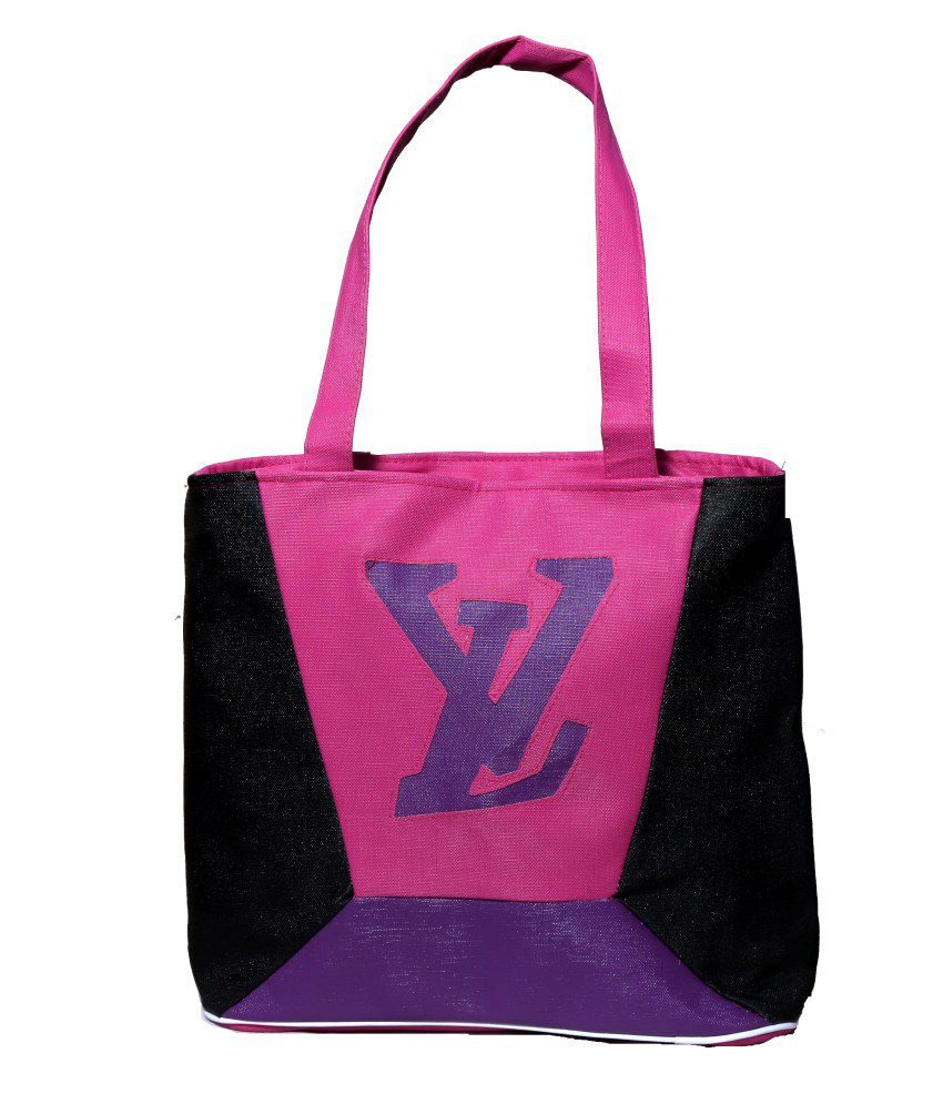 Naaz Bag Collection Pink Non Leather Shoulder Bag Women