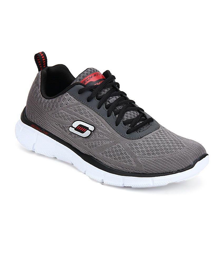 skechers gray running sport shoes price in india buy