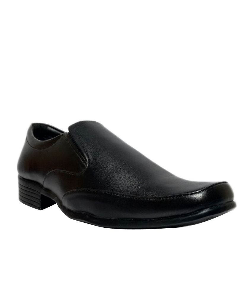 Bata Black Formal Leather Shoes