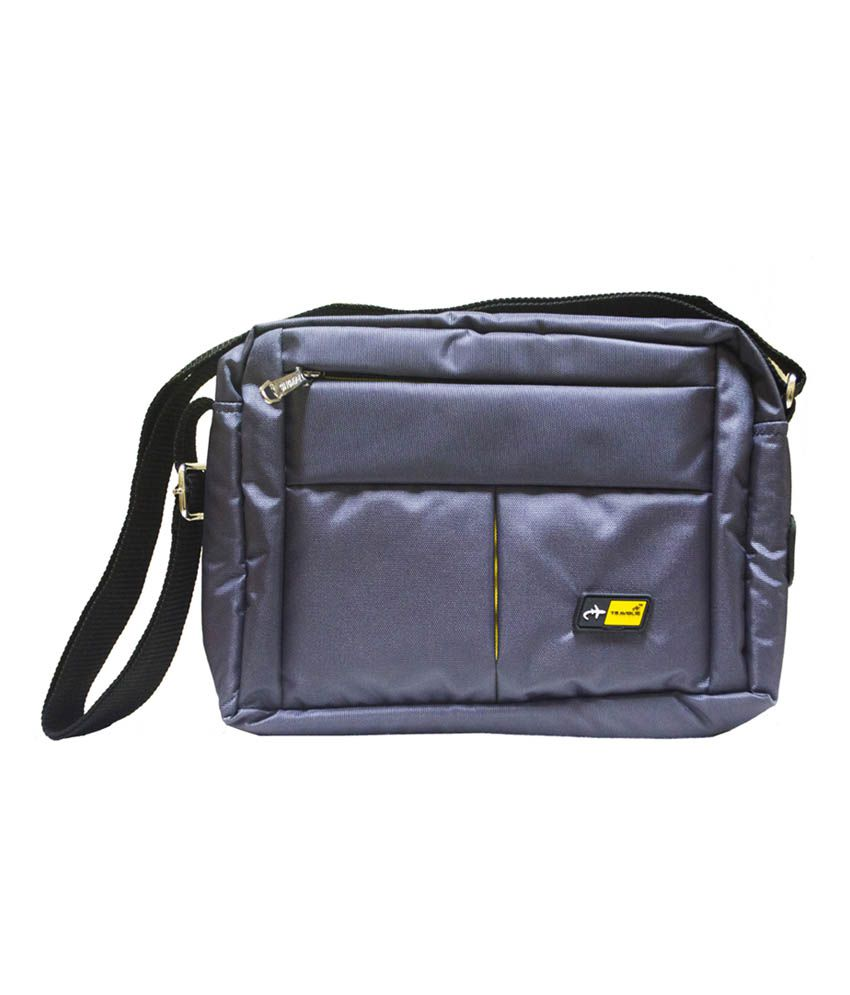 Travolic Gray Polyester Travelling Pouch