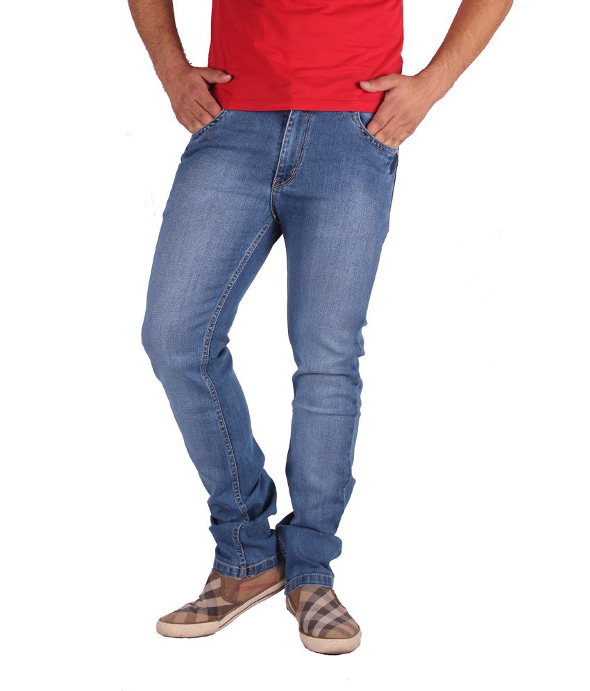 Gasconade Blue Slim Fitted Jeans